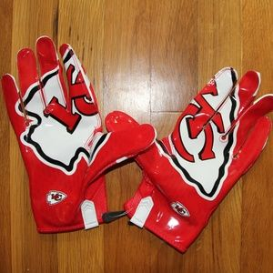 Nike Vapor Knit Kansas City Chiefs Football Gloves